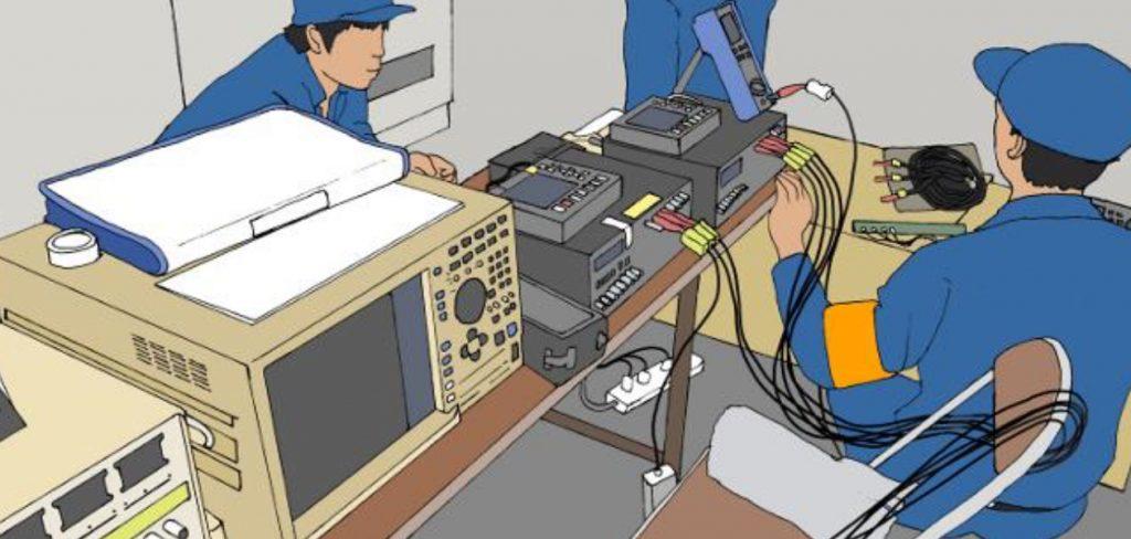 鉄道信号装置検査試験エンジニア
